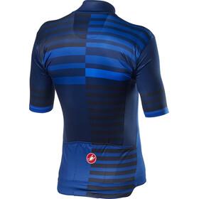 Castelli Mid Weight Pro Jersey Korte Mouwen Heren, savile blue